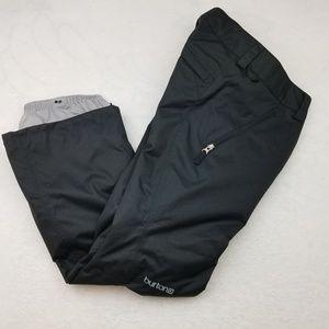 Burton Dry Ride Black Snow Board Ski Pants XS